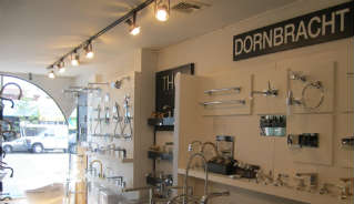 Dornbracht display at the Focal Point Showroom