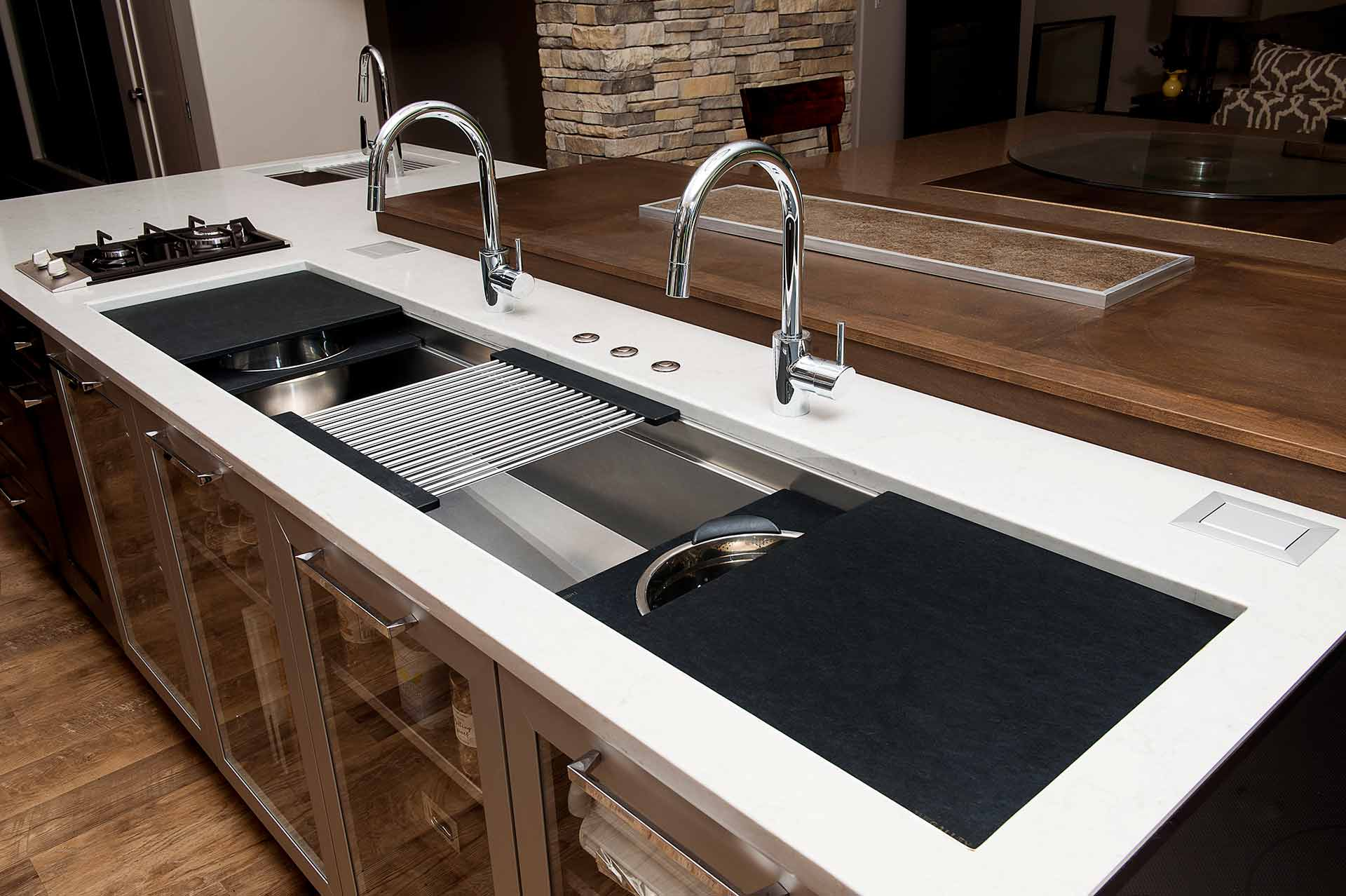 The Galley Reinvent Your Kitchen Sink Focal Point Hardware