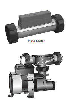 MTI In-Line heater for Soaker/Air Tubs