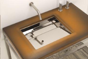 Neo metro 3673 shallow ebb basin 3673 focal point hardware for Shallow undermount bathroom sink
