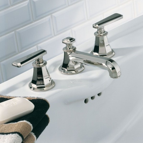 A58/151 THG Paris Traditional Tradition Lever Handles Widespread Faucet