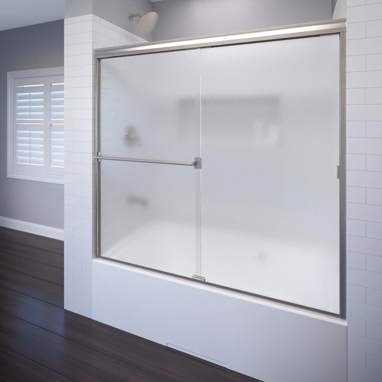 Basco 3400 56sbn 56 Classic Sliding Shower Enclosure With