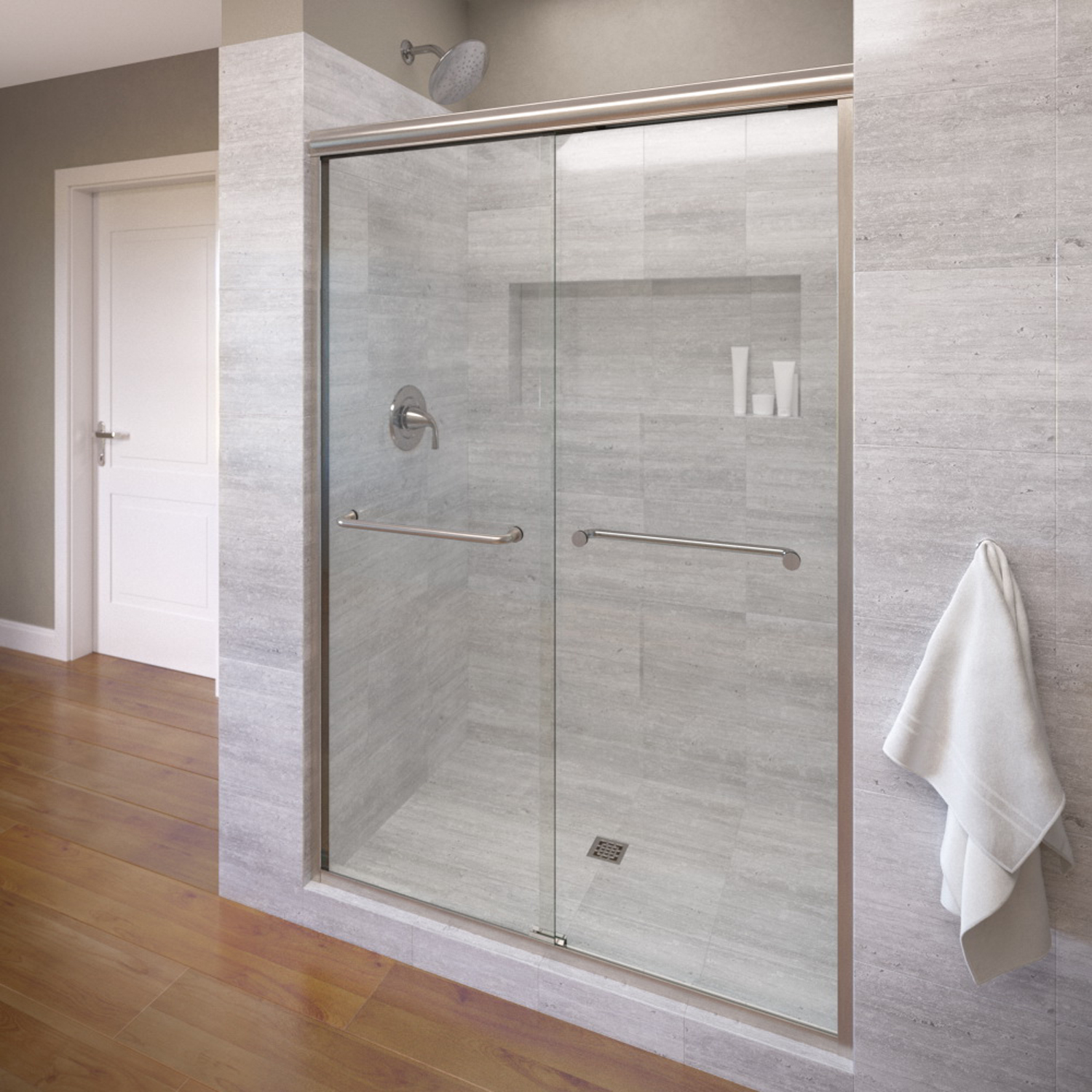 Basco 4500 60clbn 60 Infinity Sliding Shower Enclosure