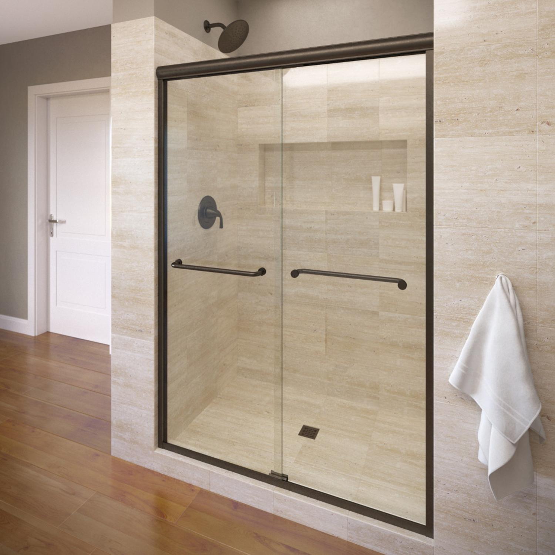 Basco 4500 60clor 60 Infinity Sliding Shower Enclosure