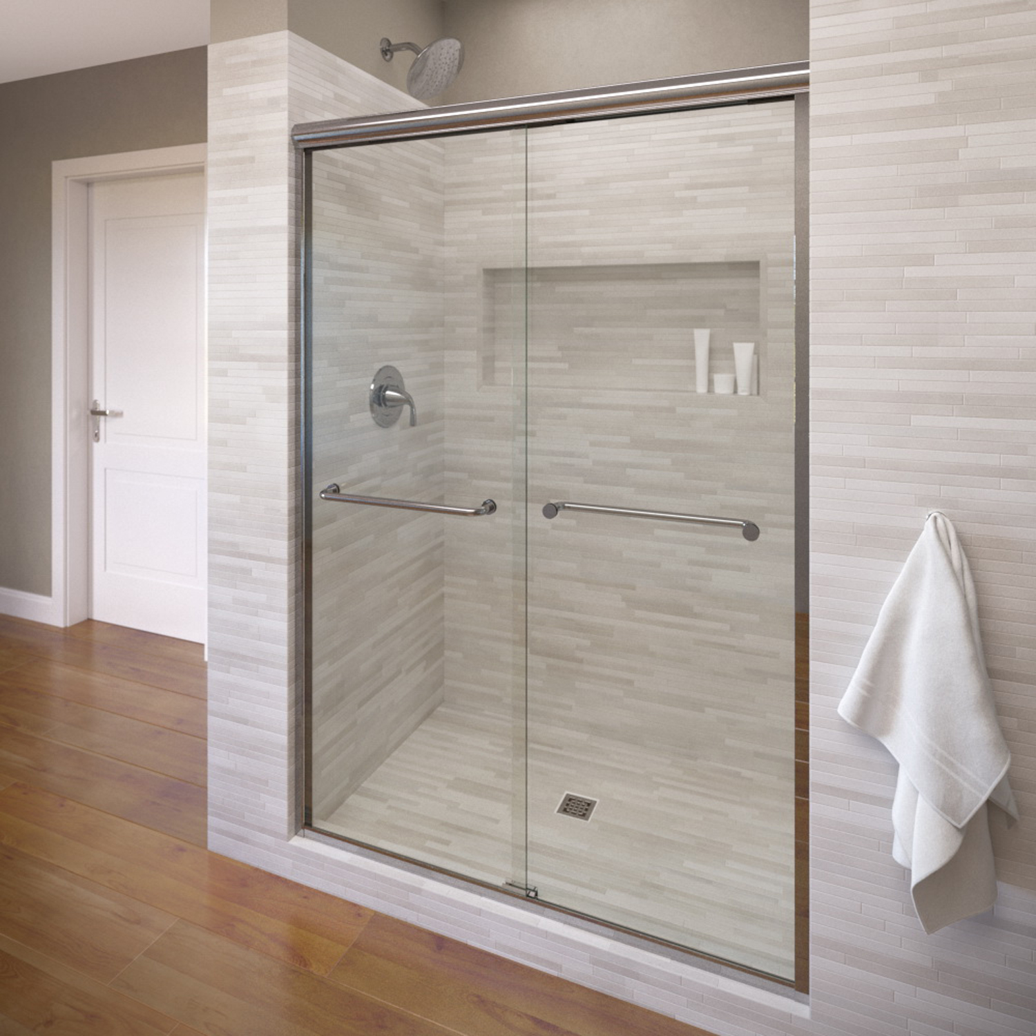 Basco 4500 60cl 60 Infinity Sliding Shower Enclosure With