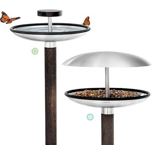 Blomus 65033 fuera bird feeder 65033 focal point hardware for 65033