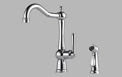 61136 Brizo Tresa Single Handle Kitchen Faucet with Spray ...