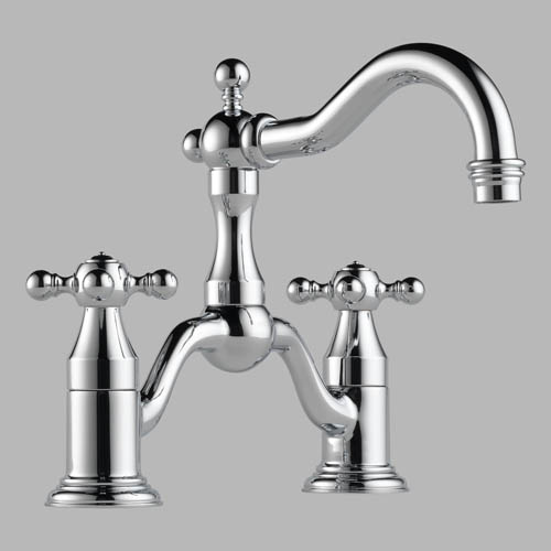 65538 Brizo Tresa Two Handle Widespread Bridge Lavatory Faucet