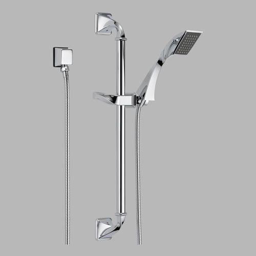 85730 brizo virage slide bar with hand shower 85730 focal point hardware. Black Bedroom Furniture Sets. Home Design Ideas