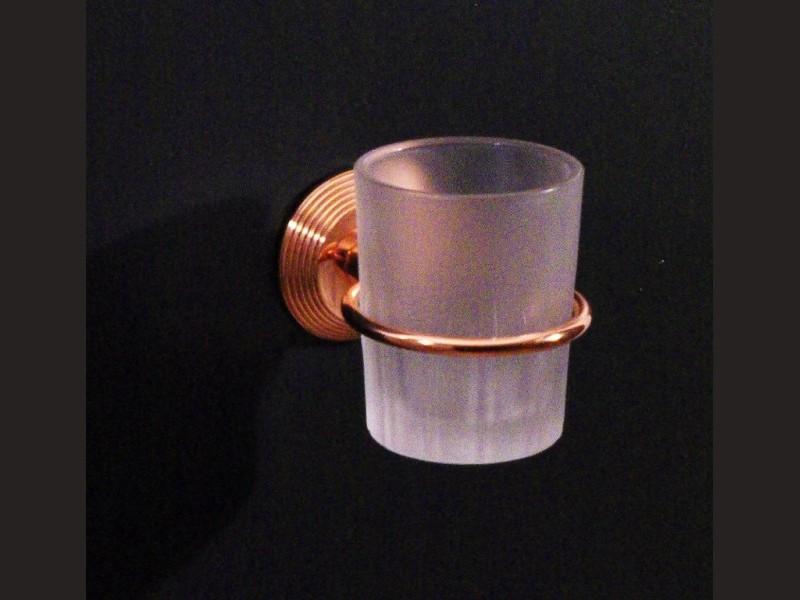 cristal et bronze 2070 cannele wall mounted glass holder. Black Bedroom Furniture Sets. Home Design Ideas