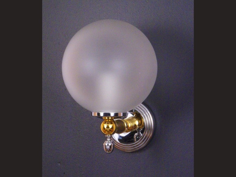 cristal et bronze 2236 cannele single wall light 2236. Black Bedroom Furniture Sets. Home Design Ideas