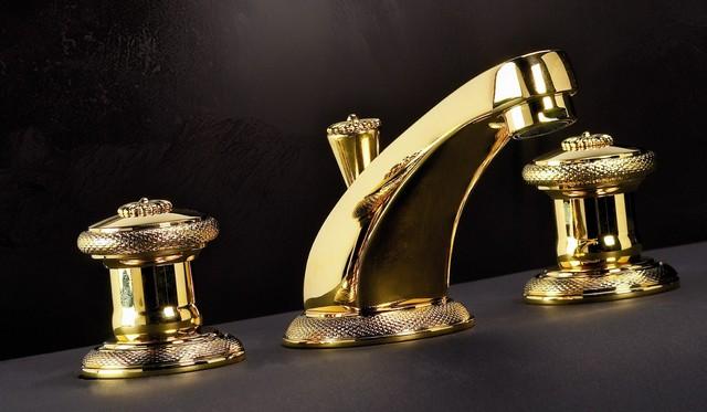 cristal et bronze 25021 17 alize three hole basin mixer. Black Bedroom Furniture Sets. Home Design Ideas