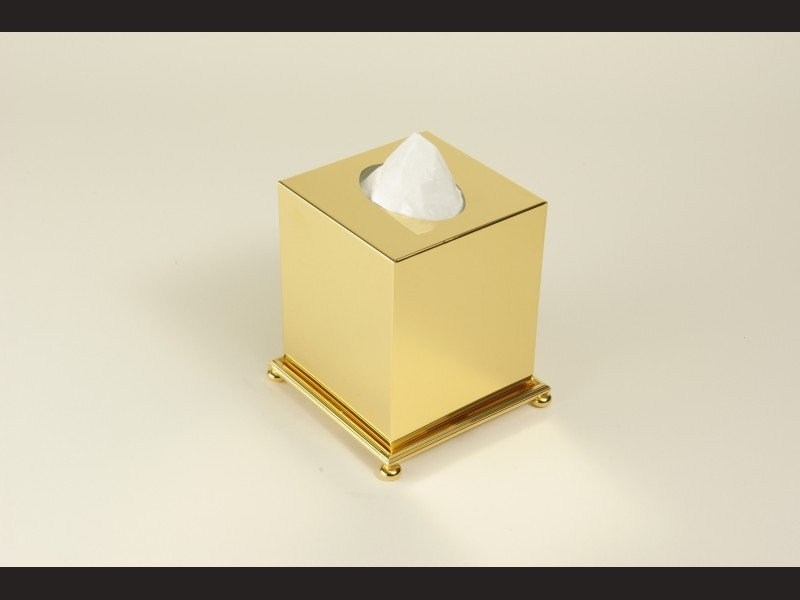 cristal et bronze 30091 square freestanding tissue. Black Bedroom Furniture Sets. Home Design Ideas