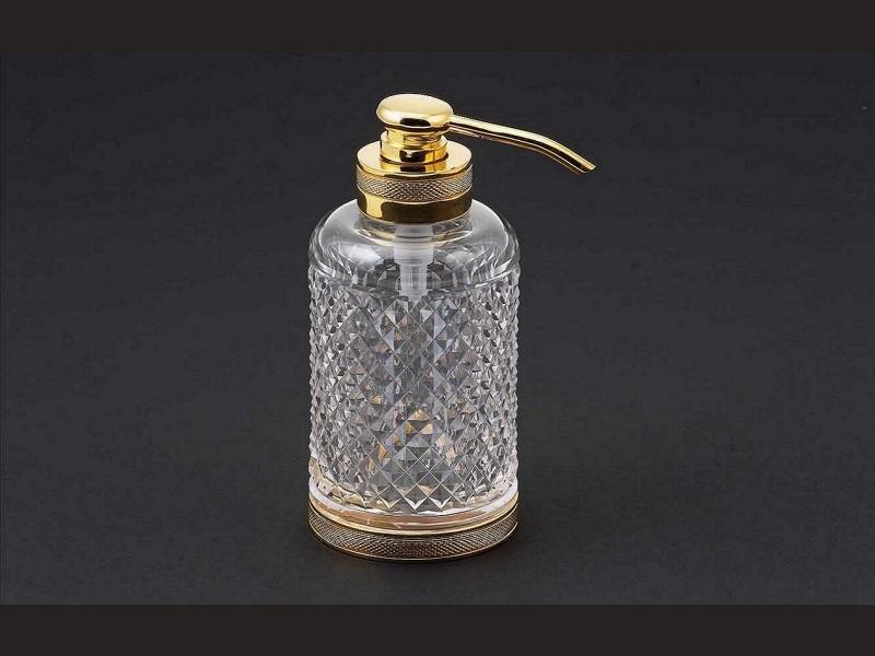 cristal et bronze 30278 crystal d cut soap dispenser. Black Bedroom Furniture Sets. Home Design Ideas