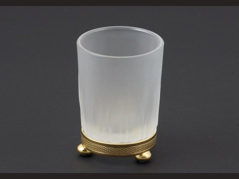 cristal et bronze 31452 holder soap and tumbler satin. Black Bedroom Furniture Sets. Home Design Ideas