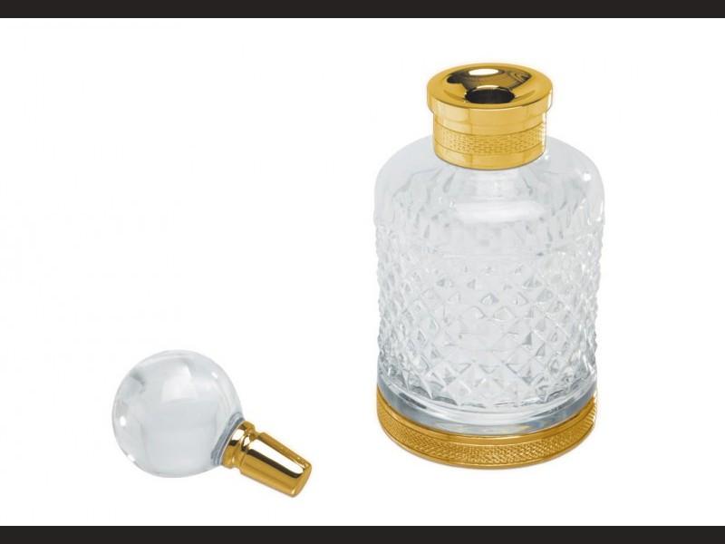 cristal et bronze 31500 soap dispenser crystal d cut clear. Black Bedroom Furniture Sets. Home Design Ideas