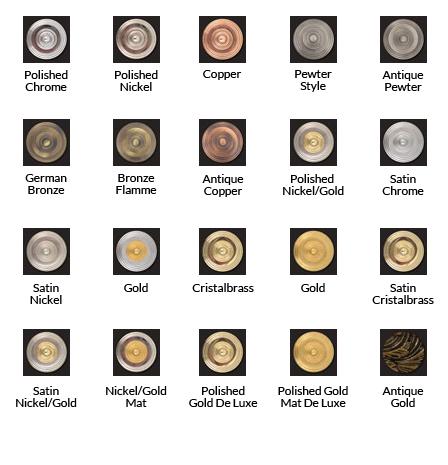 Cristal et Bronze 25411/53 Millesime Three Hole Basin Mixer [25411 ...