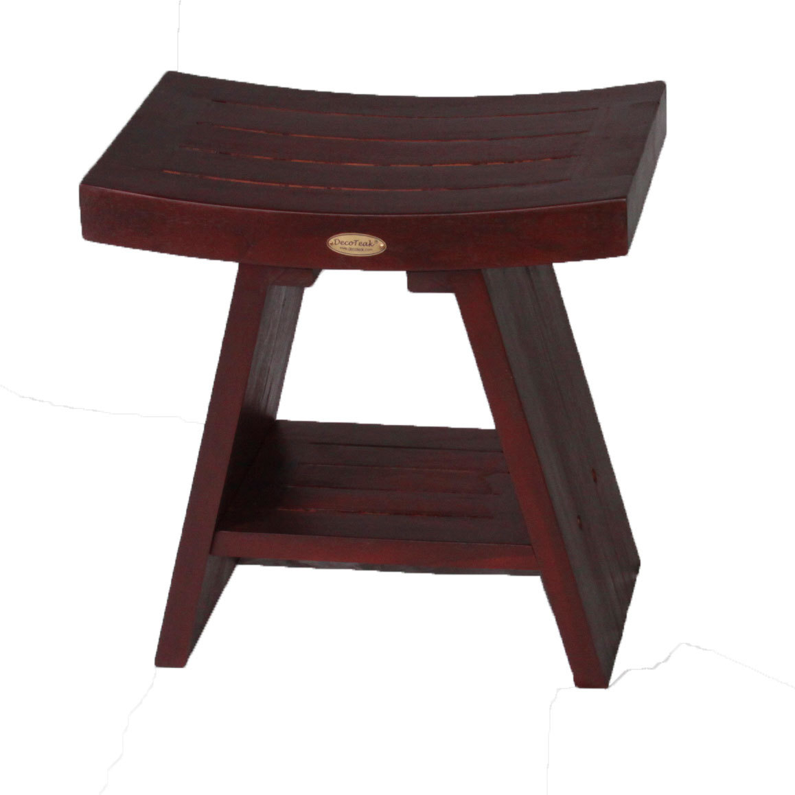 Awesome Decoteak Dt101 Serenity 18 Eastern Style Teak Shower Bench Gmtry Best Dining Table And Chair Ideas Images Gmtryco