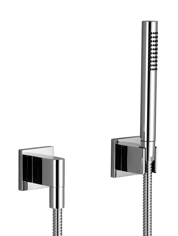 Dornbracht 27808980 deque hand shower set with individual - Bathroom items that start with l ...