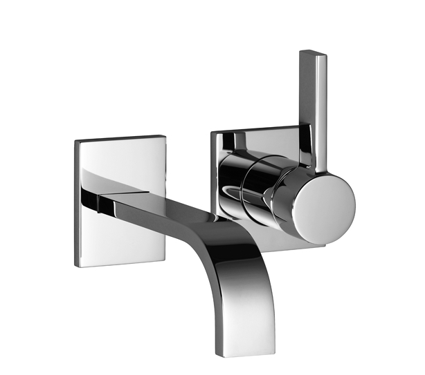dornbracht 36812782 mem wall mounted single lever basin mixer with individual rosettes 36812782. Black Bedroom Furniture Sets. Home Design Ideas
