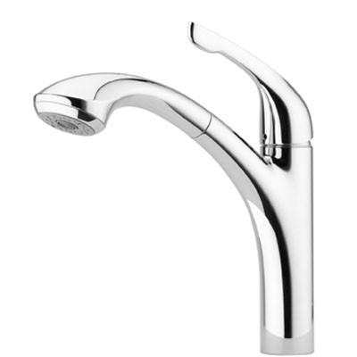 Hansgrohe 04076000 Allegro E 2 Spray Pull Out Kitchen Faucet