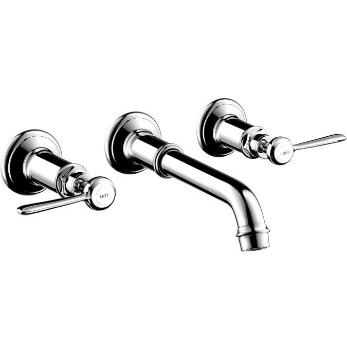 hansgrohe 16534001 axor montreux wall mount widespread. Black Bedroom Furniture Sets. Home Design Ideas