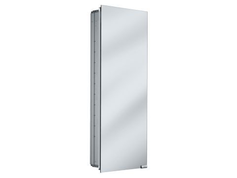 Keuco 25504000250 Mirrored Cabinet - Silver Anodized