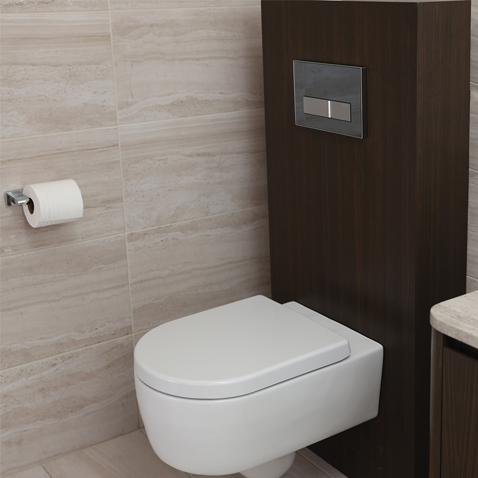 Lacava 2959 tre wood box for geberit in wall tank and for Geberit tank