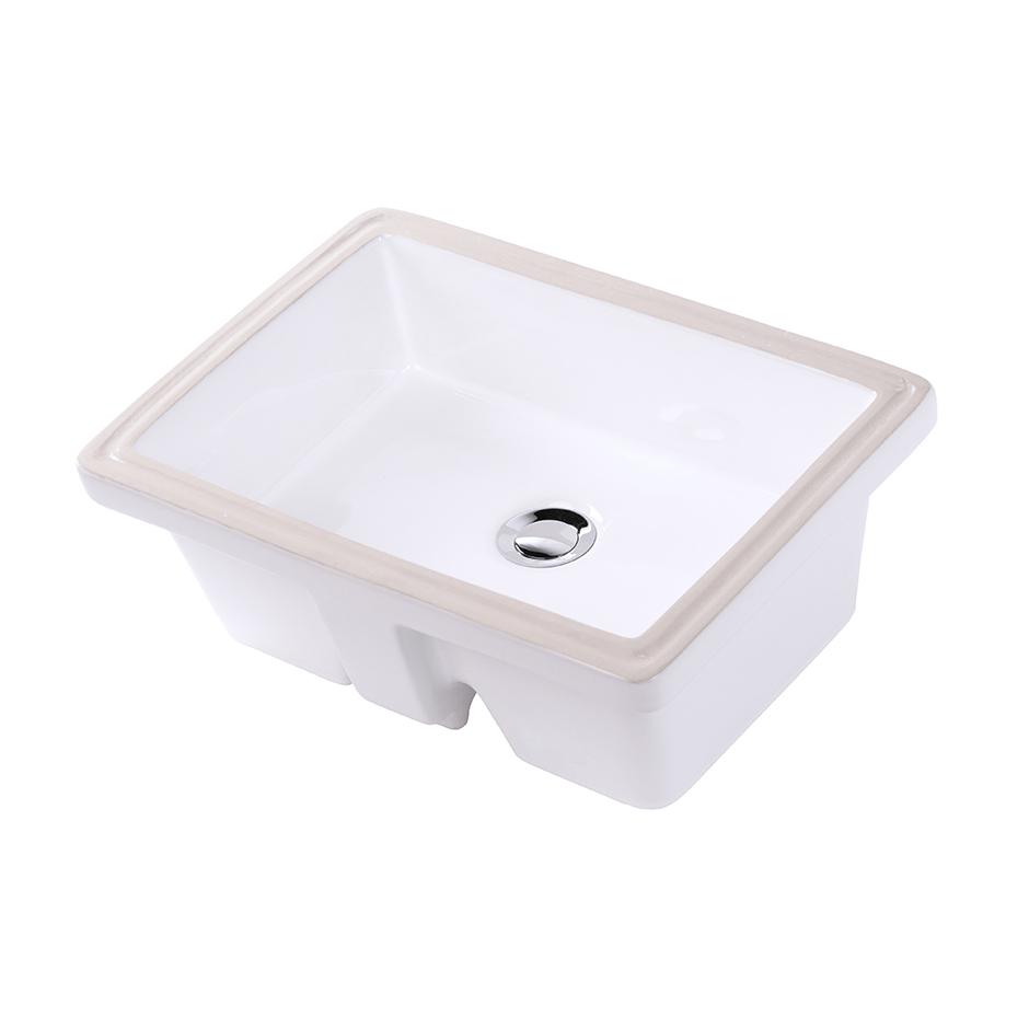 Merveilleux Lacava 5450 001 Cube Under Counter Porcelain Lavatory