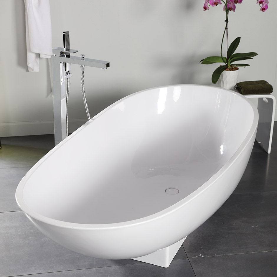 Lacava Tub04 Ovale Free Standing Soaking Bathtub Tub04