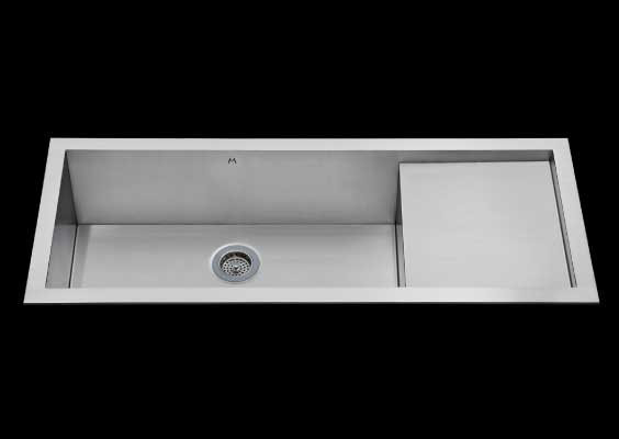 Mila MPS-653 Atelier Prepboard Kitchen Sink