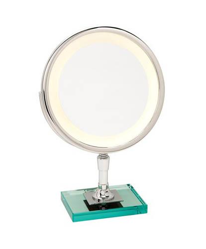 Miroir brot petite elegance c 24 on a glass base t24 23a1 for Miroir brot paris