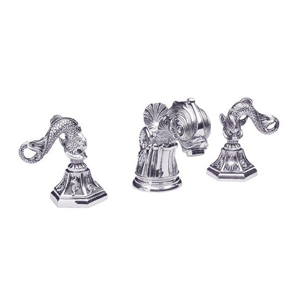 K101 Double Handle Widespread Lavatory Faucet K101 Focal Point Hardware