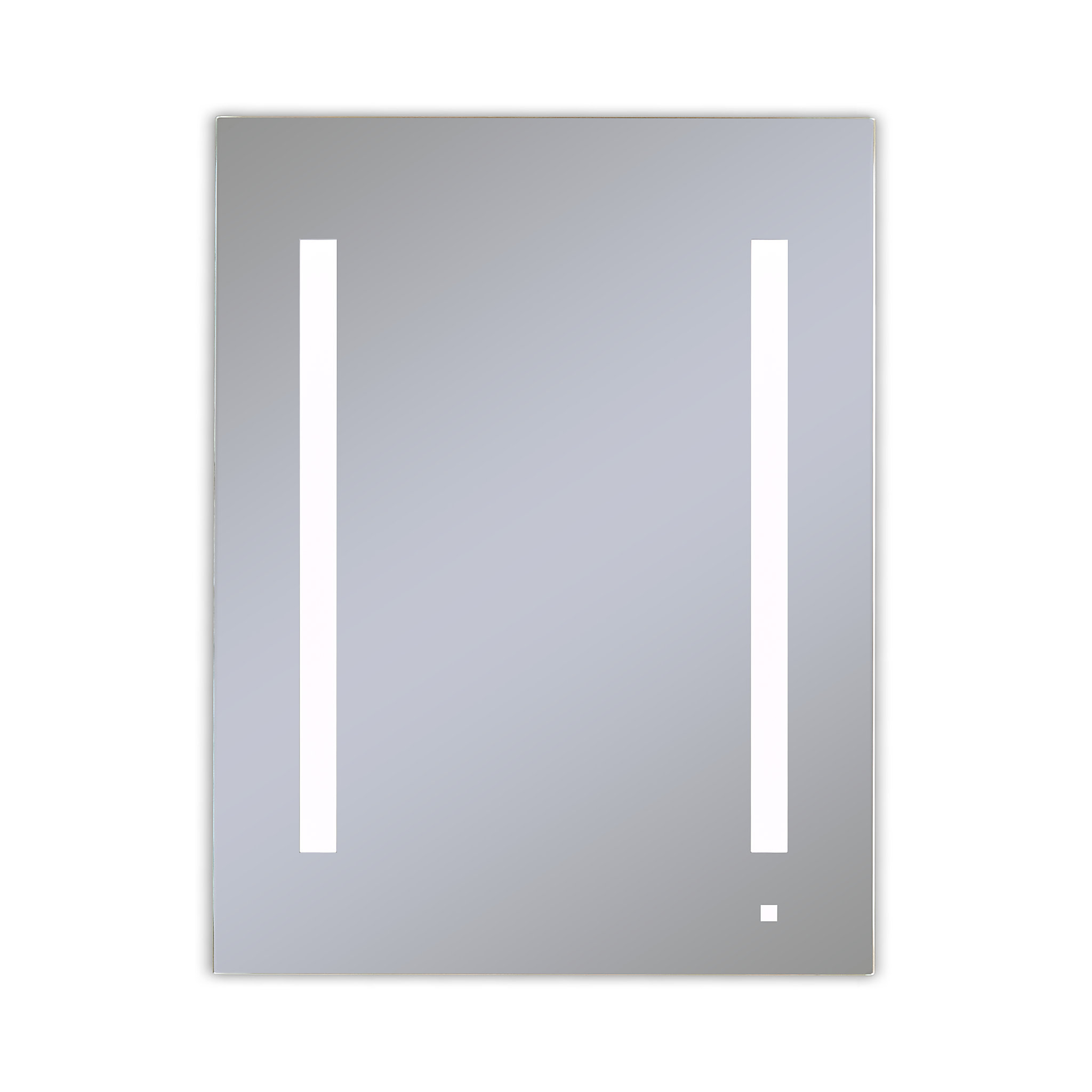 "Robern AC2430D4P1LA AiO Lighted Cabinet, 24"" x 30"" x 4"", LUM Lighting, 4000K Temperature (Cool Light), Dimmable, OM Audio, Elect"