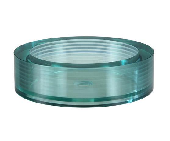 Ryvyr Gv105rrd Segment Round Glass Vessel Sink Gv105rrd Focal