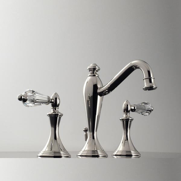 2520yc santec lear crystal widespread lavatory faucet 2520yc focal point hardware