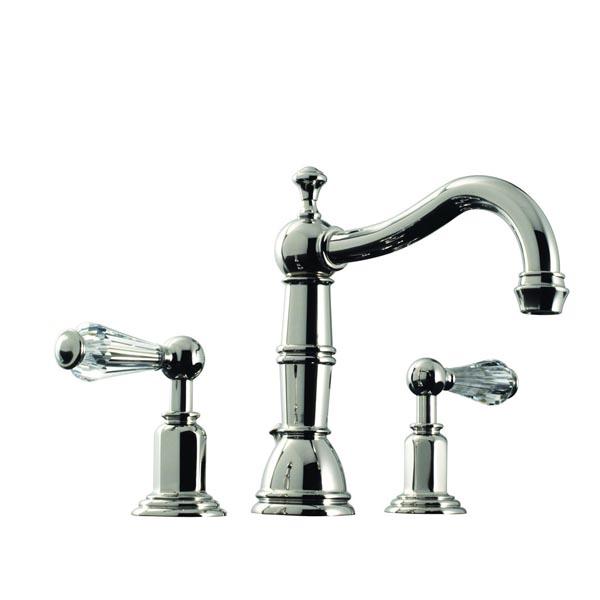 Santec Faucets : 2920EC Santec Vantage Crystal Widespread Lavatory Faucet [2920EC ...