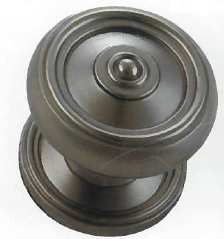 45520-SN Merit Metal Huntigdon Collection Dummy Knob - SN