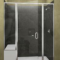 basco swing shower doors