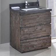 Fairmont Acacia Bathroom Vanity Set