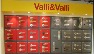 Valli & Valli display at the Focal Point Showroom