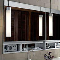Delicieux Frameless Cabinets. Lighting And Bulbs