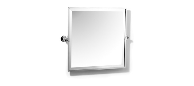 Samuel Heath L1149 Classic Square Framed Bevelled Tilting Mirror