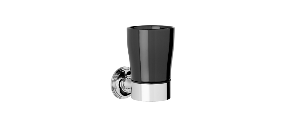 Samuel Heath N6635B Style Moderne Black Tumbler Holder