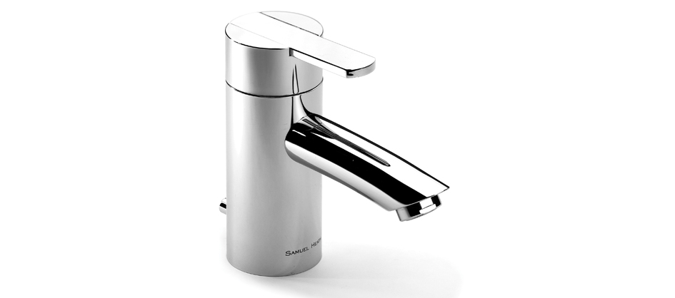 Samuel Heath V109-AUS Xenon Single Lever Lavatory Mixer with Pop-up Waste