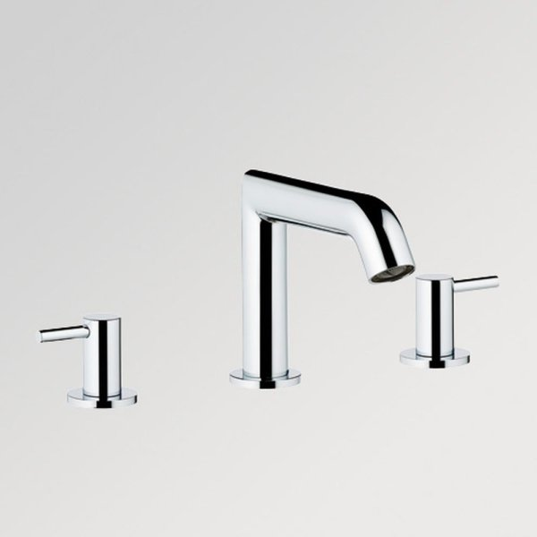 G5B/151 THG Paris Contemporary Nano with Metal Lever Handles Widespread Faucet