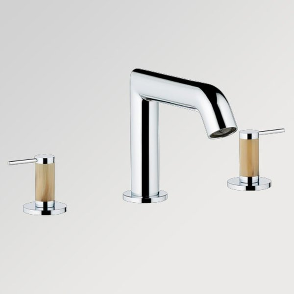 G5C/151 THG Paris Contemporary Anoa - Clear Horn Widespread Faucet