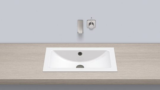 Alape 2201000000 EB.R585 Built-in Basin