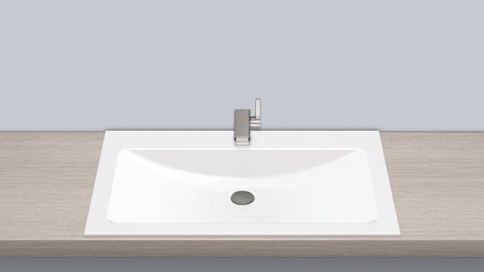 Alape 2204000000 EB.R800H Built-in Basin