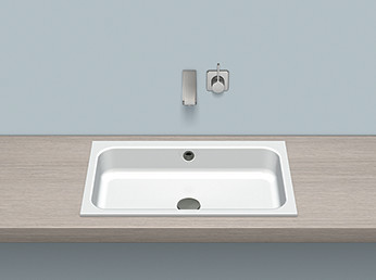 Alape 2218700000 EB.SR650 Built-in Basin